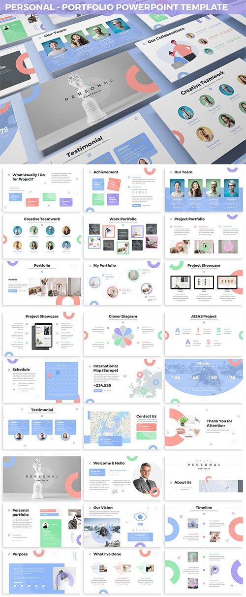 Personal - Portfolio Powerpoint Template