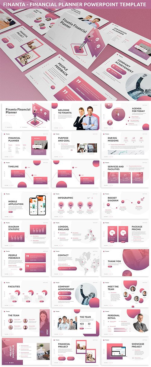 Finanta - Financial Planner Powerpoint Template