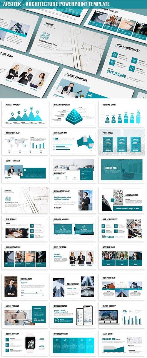 Arsitek - Architecture Powerpoint Template