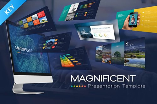 Magnificent Keynote Presentation Template