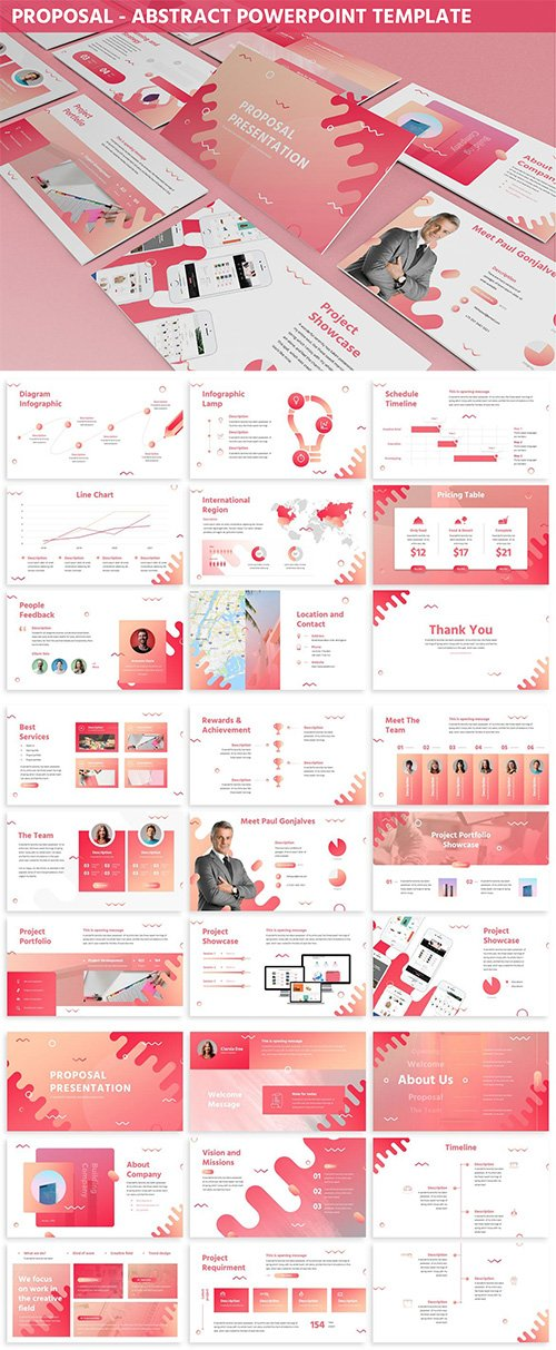 Proposal - Abstract Powerpoint Template
