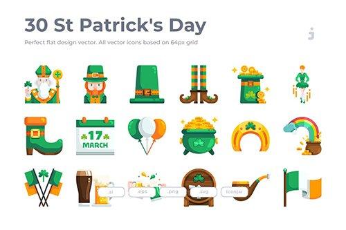 30 St-Patrick's Day- Flat
