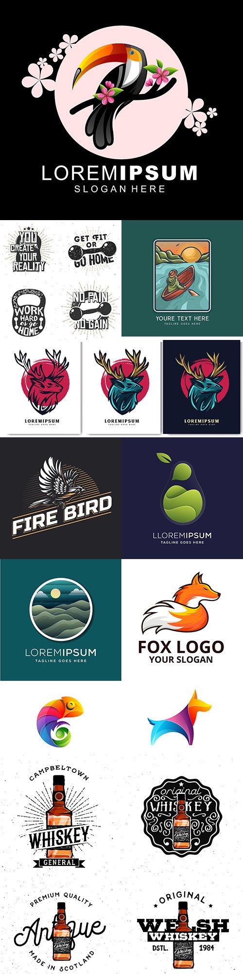 Creative logos business corporate company design 55