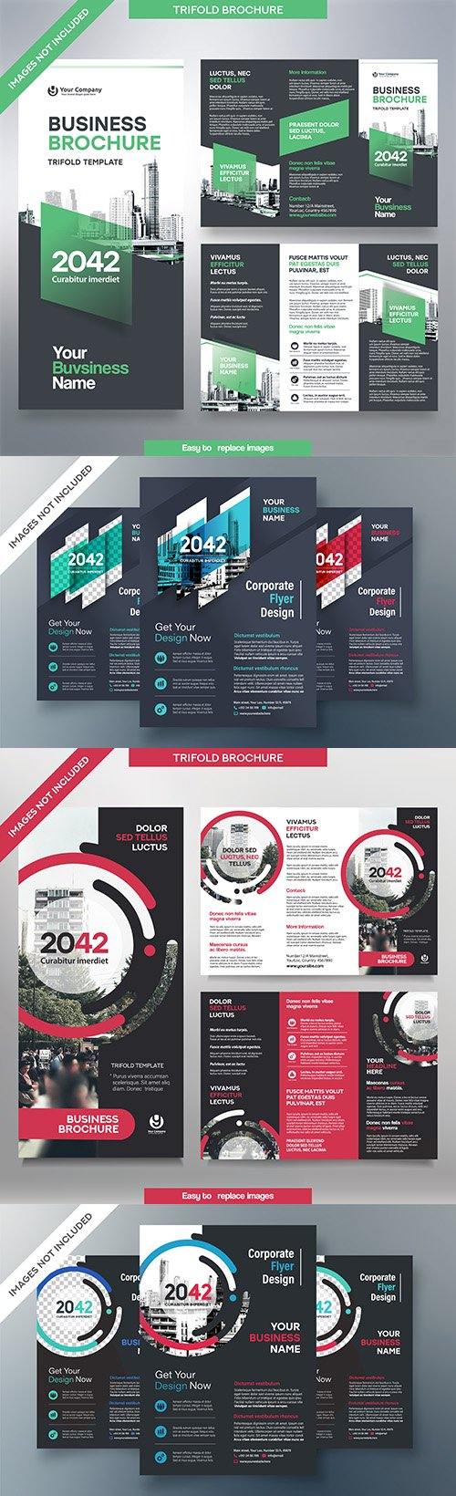 Business flyer and brochures brand design template