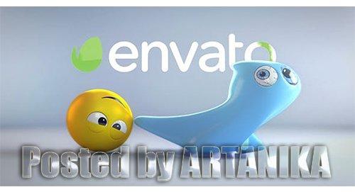 Ghost And Emoji Logo Reveal 20701342