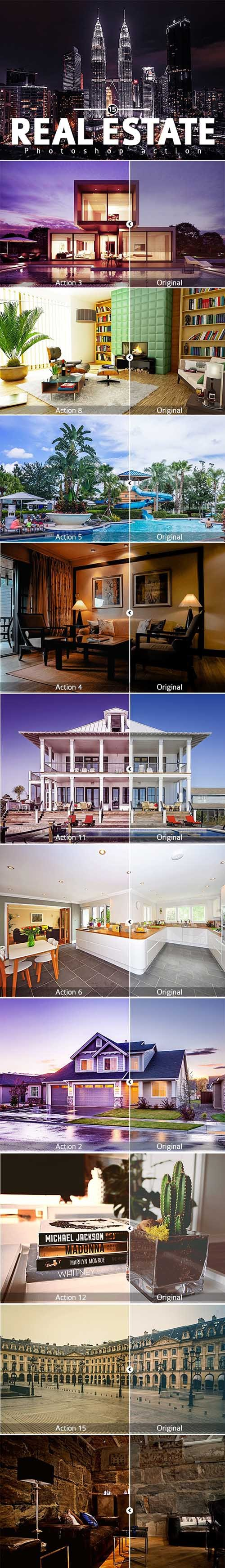 Real Estate Photoshop Action 24859571