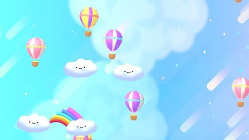 Kawaii Rainbow Sky 25291892