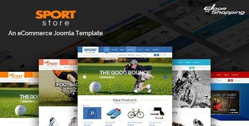 ThemeForest - Sport Store v3.9.6 - Responsive Joomla Template - 7770659
