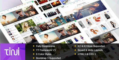 ThemeForest - Tini v3.9.6 - News/Magazine Template with Online Shop - 9279848