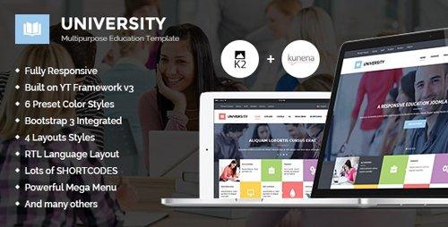 ThemeForest - University II v3.9.6 - Multipurpose Education Template - 11262557