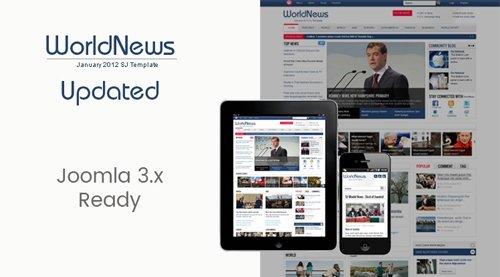SmartAddons - SJ WorldNews v3.9.6 - Joomla Template for News magazine
