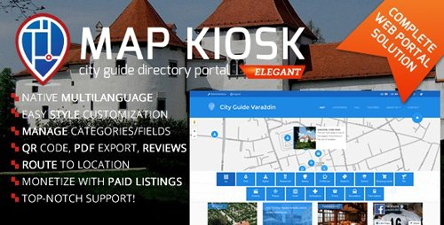 CodeCanyon - City Guide Directory Portal v1.6.6 - 15315828 - NULLED