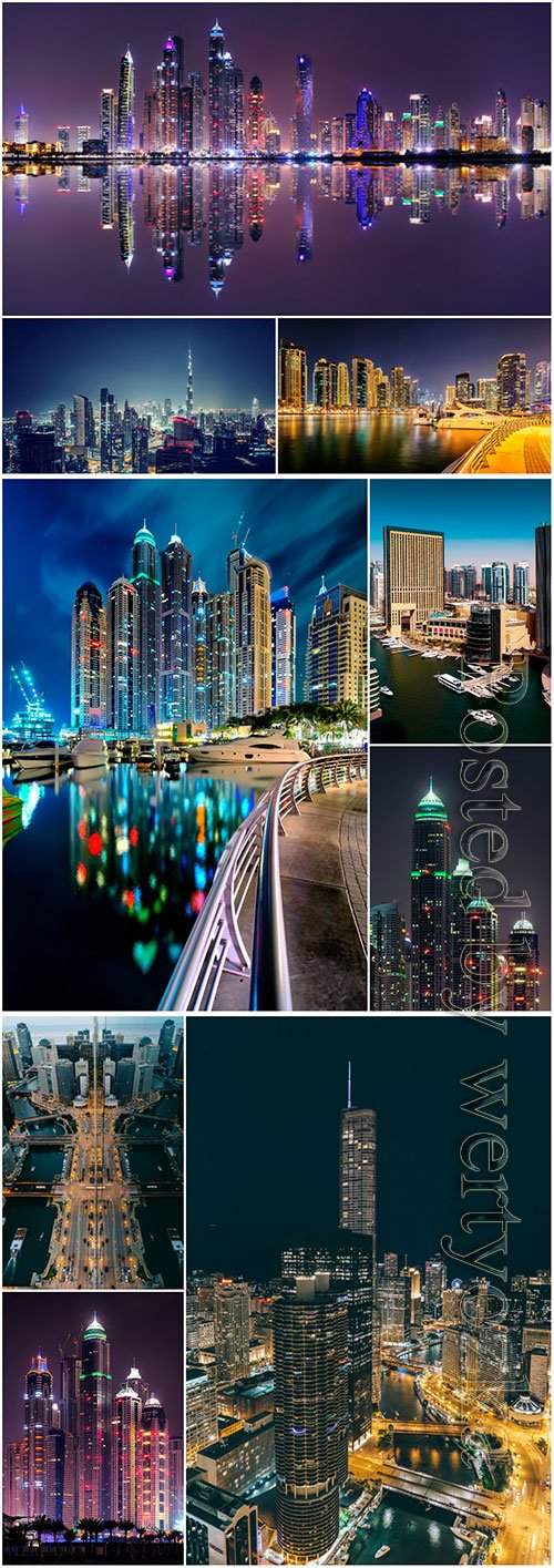 Beauty night city beautiful stock photo