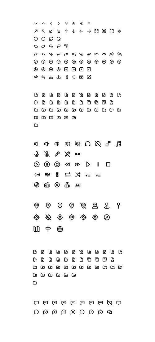 Magni icon set
