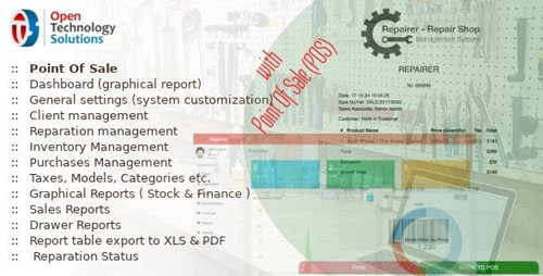 CodeCanyon - Repairer v3.5 - Repair Shop Management System With Point Of Sale - 20869216 - NULLED