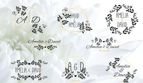 8 Flower Wedding Titles 263001