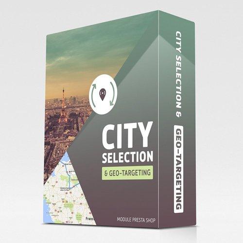 City selection and geo-targeting v1.0 - PrestaShop Module