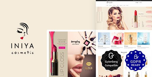 ThemeForest - Iniya v1.9 - Beauty Store, Cosmetic Shop WordPress Theme - 20774320