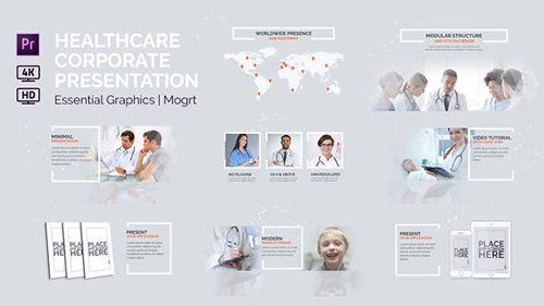 Healthcare Corporate Presentation | Essential Graphics | Mogrt 22773386