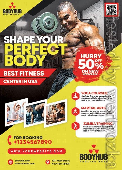 Gym Promotion - Premium flyer psd template