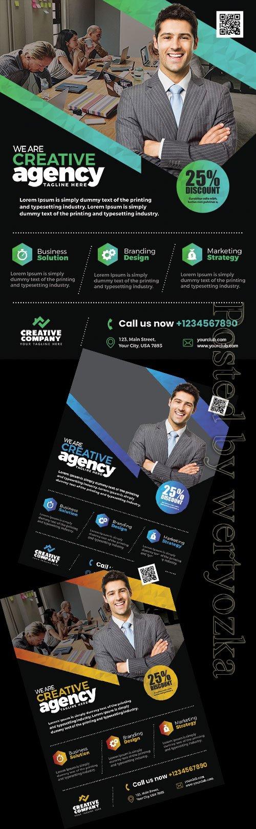 Business Promotion - Premium flyer psd template