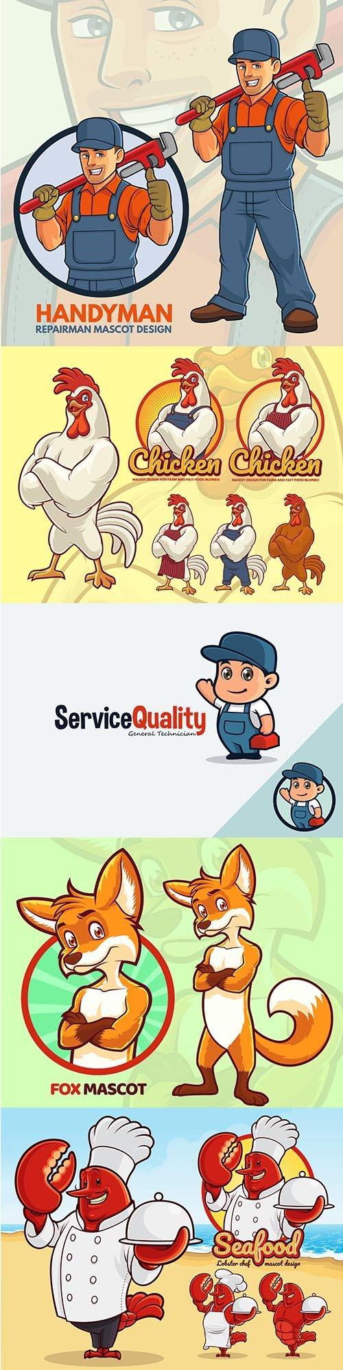 Mascot Logo Design Template