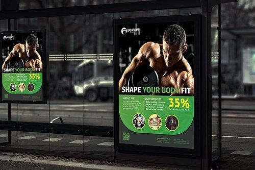 Badagok Fitness - Promotion Poster RB