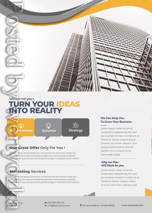 Success Marketing Business - Premium flyer psd template