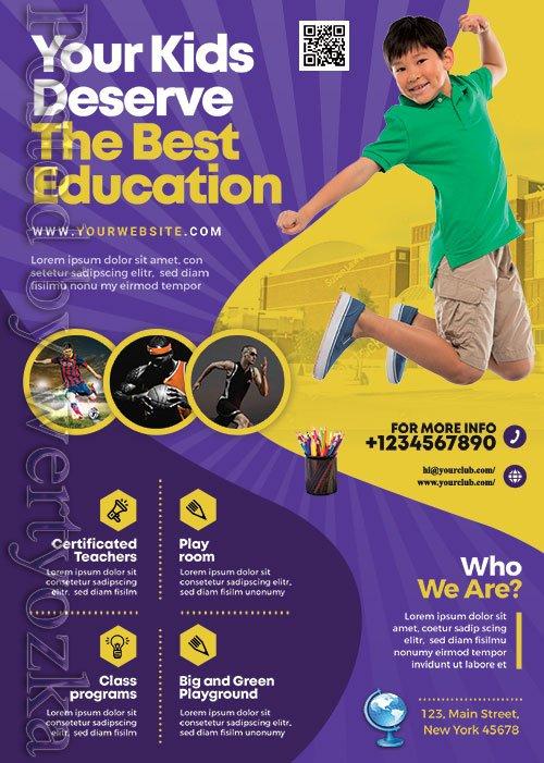Education Institute - Premium flyer psd template