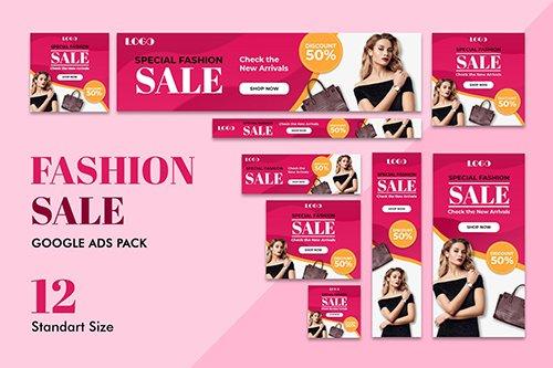 Google Ads Web Banner Fashion Sale