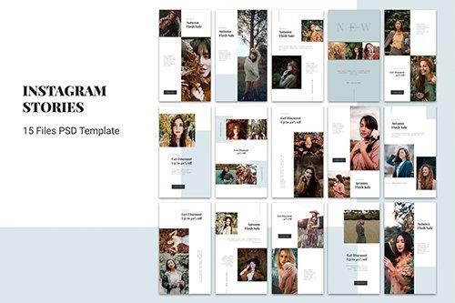 Instagram Stories Fashion Flash Sale