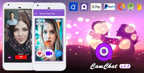 CodeCanyon - Cam Chat v1.0 - Android Dating App with Voice/Video Calls - In-App Subscriptions - 25237026
