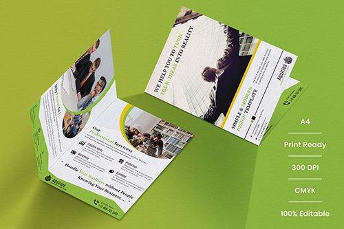 Business Brochure Bifold Template-02