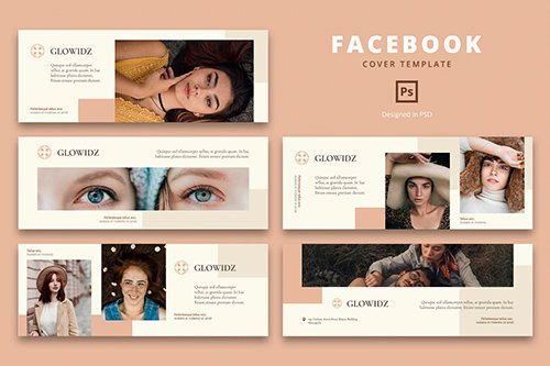 Facebook Cover Template Trend Fashion