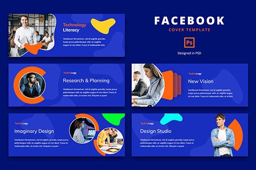 Facebook Cover Template Professional Business