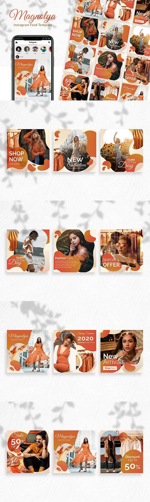 Magnolya Instagram Feed Template