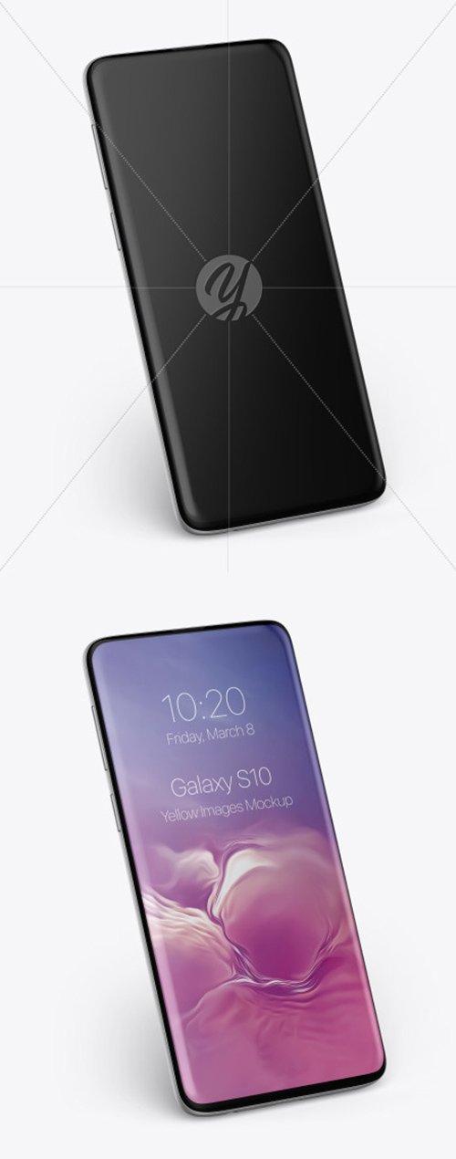 Samsung Galaxy S10 Mockup 50153