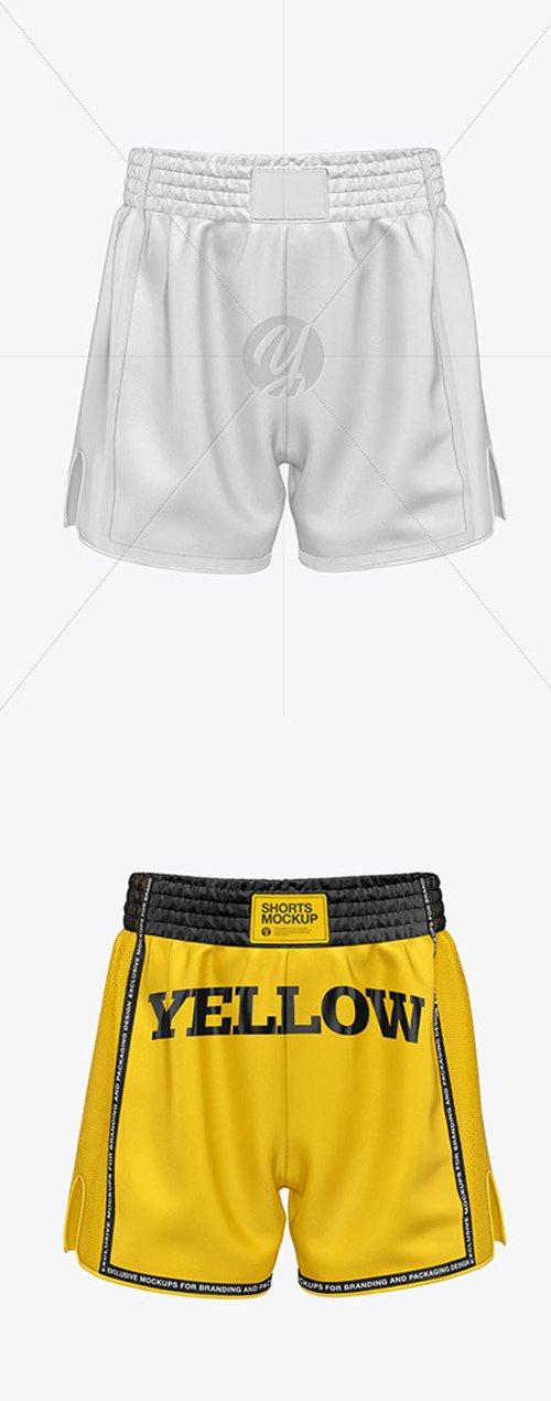 Shorts Mockup - Front View 53720