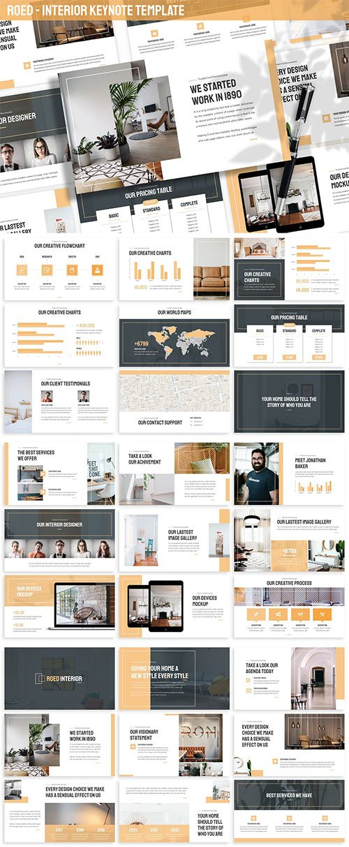 Roed - Interior Keynote Template