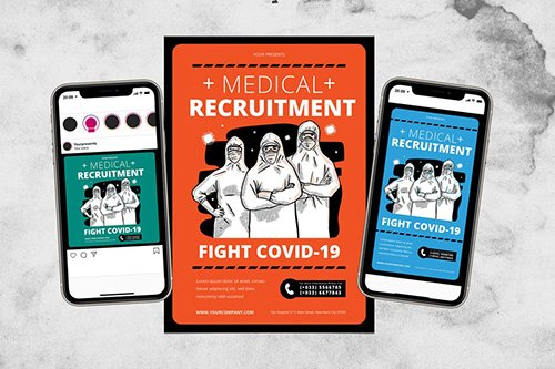Medical Recruitment Fight Covid-19