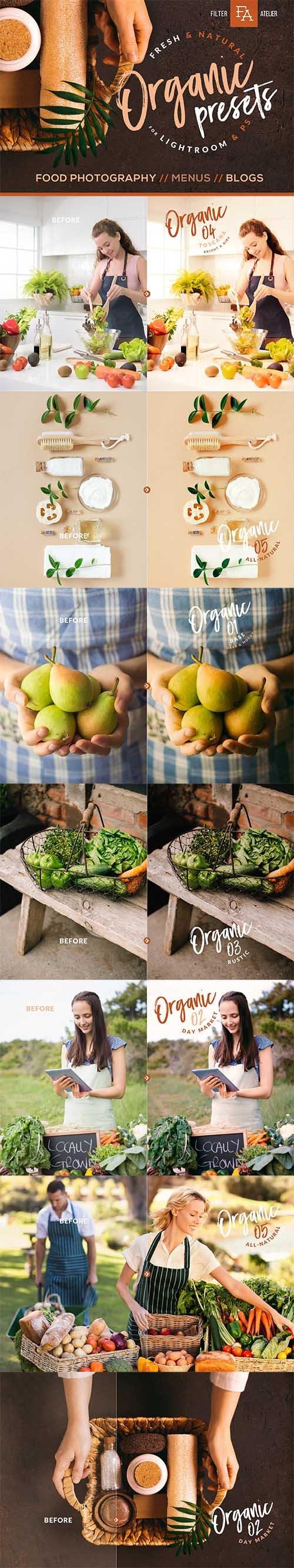 Organic Food Presets for Desktop & Mobile