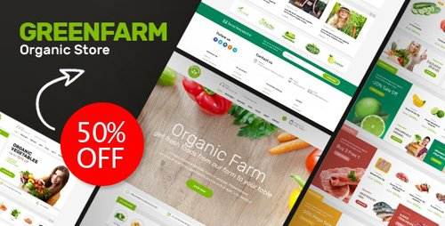 ThemeForest - Greenfarm v1.0 - Organic Food Prestashop Theme - 26231996
