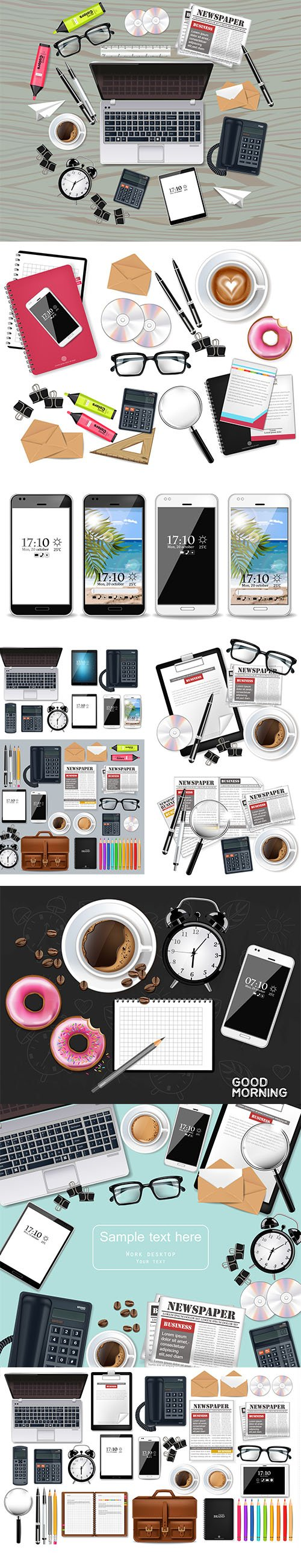 Office Desktop Business Set