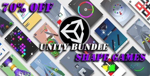 CodeCanyon - Unity Shape Games Bundle v1.0 - 25359647
