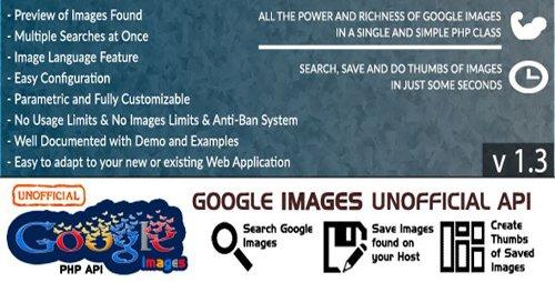 CodeCanyon - Google Images v1.3 - Unofficial API - 11252882