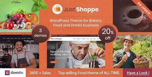 ThemeForest - Justshoppe v10.1 - Elementor Cake Bakery WordPress Theme - 4747148