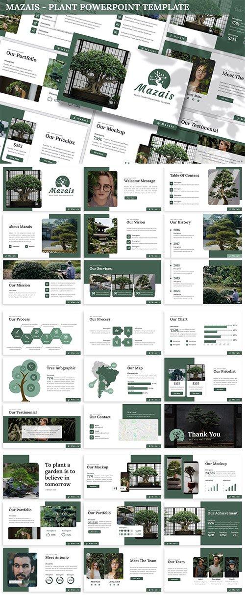 Mazais - Plant Powerpoint Template
