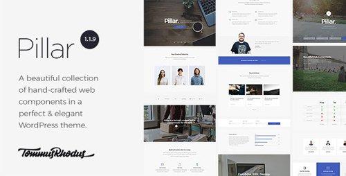 ThemeForest - Pillar v1.1.15 - Multipurpose Multi-Concept Responsive WordPress Theme - 17795788
