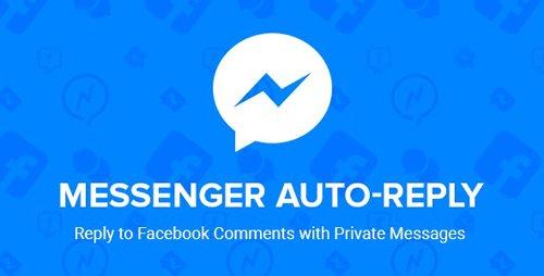 CodeCanyon - Facebook Messenger Auto-Reply v2.5 - 19516884