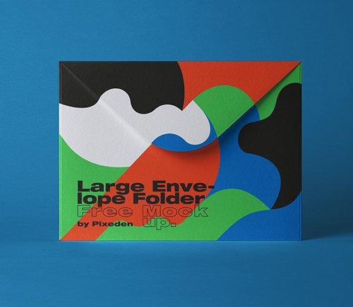 Folder Envelope Mockup